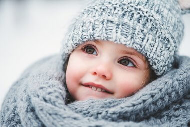Simple winter skin care tips for baby.