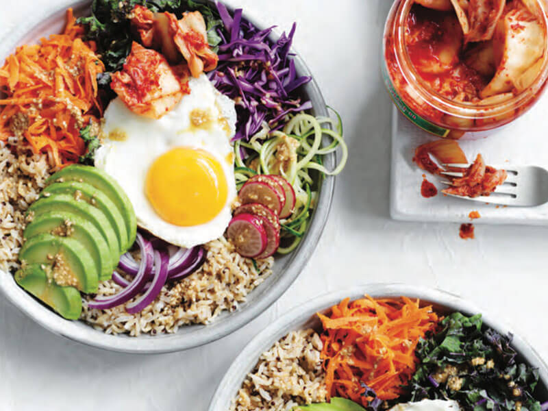 Sally Obermeder's Eggs Eleven Bowl Recipe