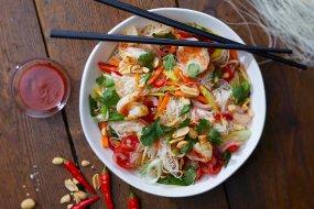 Thai glass noodle salad recipe