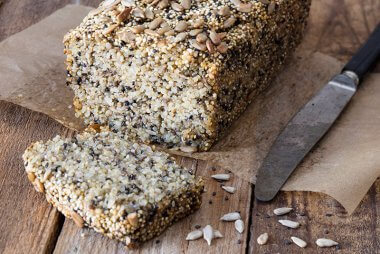 quinoa bread with chia recipe