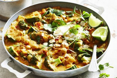 Sally Obermeder's Chickpea and Vegie Curry