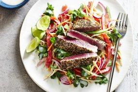 chia seared tuna