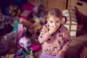 decluttering with kids