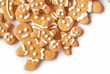 Healthy Gingerbread Biscuits for Christmas