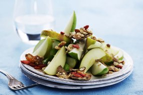pear salad with muesli