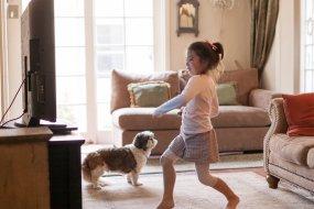 coronavirus keeping kids active