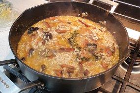 gary mehigan mushroom risotto