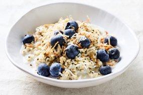 hemp and chia porridge