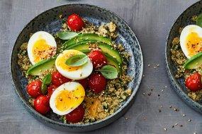 hearty quinoa porridge